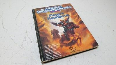Advanced Dungeons and Dragons 2nd Edition 2E Players Handbook 1989