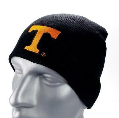 the latest 83ab2 e1f85 ... usa tennessee volunteers vols black ncaa football beanie knit hat toque  fan gift b3fae 12bfe