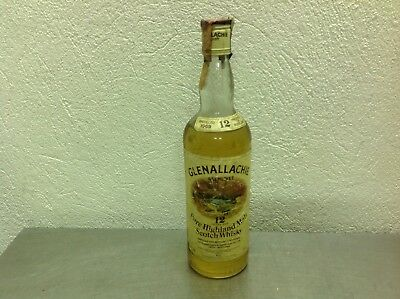 whisky Glenallachie  cl 75  vol 40 years 12 distilled 1969