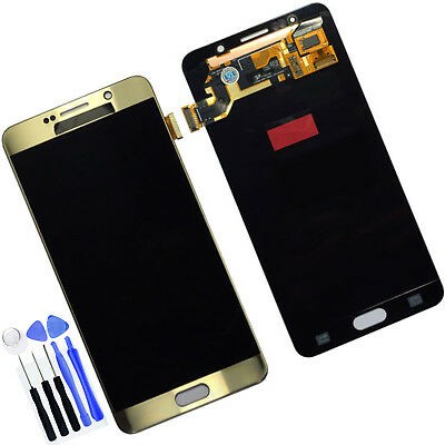 New For Samsung GALAXY Note 5 N9200 LCD Display Screen + Touch Digitizer Gold