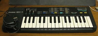 Casio Sk-1 Musical Instrument -  Sampling Keyboard