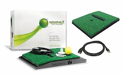 New OptiShot 2 Golf Simulator (Mac & PC), With Extra Turf and Cable
