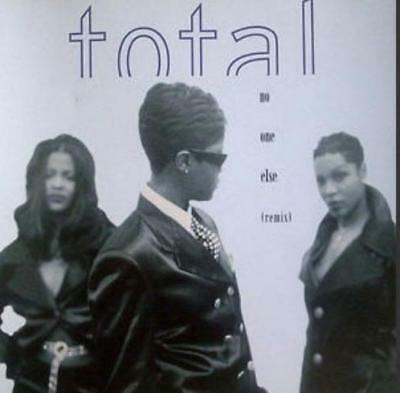 Total: No One Else PROMO w/ Artwork MUSIC AUDIO CD R&B Remix Instrumental 9053