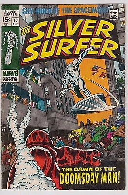 Silver Surfer #13 1970 Marvel Comics Fn-/fn Condition