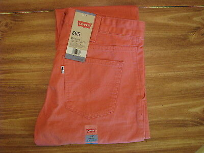 Levi's 505 Straight Youth/Child Size 18 Regular (29x29) New Kids Jeans/Pants