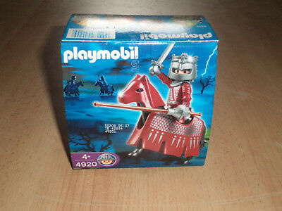 Playmobil No. 4920 Osterei Easter egg Roter Turnierritter Red Turnament Knight