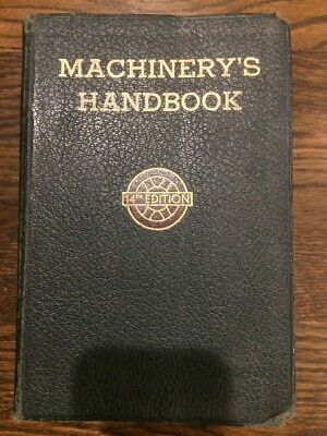 Machinery's Handbook for Machine Shop and Drafting-Room, 14th Edition, 1950