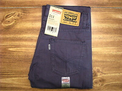 Levi's 514 Straight Youth/Child Size 12 Regular (26x26) New Kids Jeans/Pants