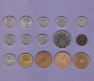 Ceylon/Sri Lanka & Nepal - Coin Collection Lot - World/Foreign/Asia