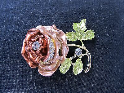 Unusual Rose Pin