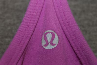 LULULEMON athletica womens 6 tank top shirt YOGA fitness PURPLE inside bra