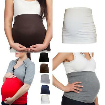 Corset body covered with maternity dressing dedicated belly pregnant women