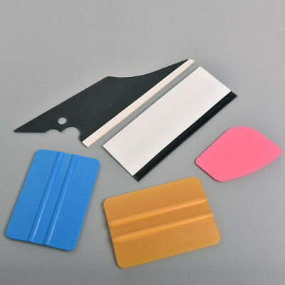 5 in1 Squeegee Scraper Cleaner Set Kit Car Home Window Film Tint Tools Tinting