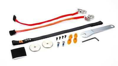 HANS Upgrade Sliding Quick Click Tether Head and Neck Tether P/N TU11421