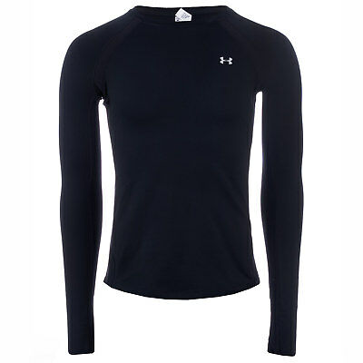 Womens Under Armour Womens ColdGear Long Sleeve Top in Black - 4-6