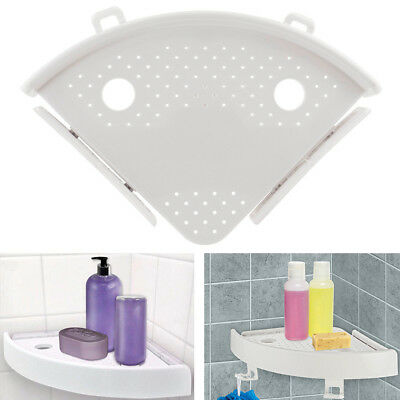 1PC Quick Fix Corner Easy Snap Shelf Grip Up to 4kg Easy Wall Bathroom Products