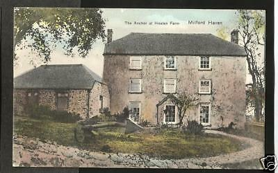 JEV Early Postcard, The Anchor, Hoaten Farm, Milford Haven, Pembrokeshire