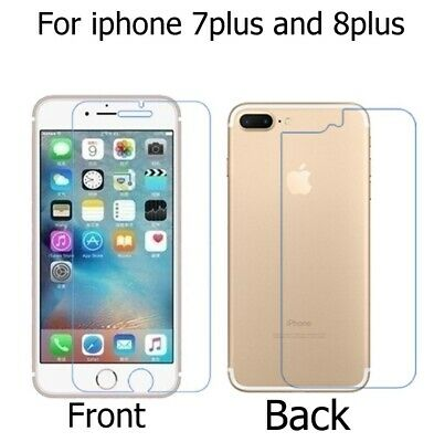 9H Premium Front+Back Tempered Glass Film Screen Protector For iPhone 6 7 8 X DE