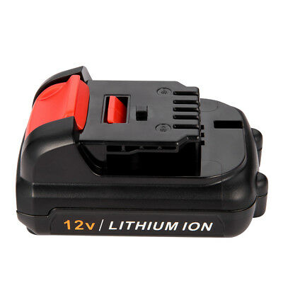 Replacement Battery for Dewalt 12V 2.0Ah Max Lithium-Ion DCB120 DCB127 DCB121