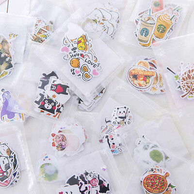 CUT Hand Stickers Line Expression Stickers Animals Food Stickers