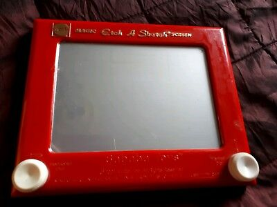 MAGIC ETCH A SKETCH SCREEN by Mattel Sababa Toys 2004-Vintage Retro