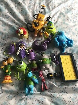 Disney Monsters Inc Collection Of Toys