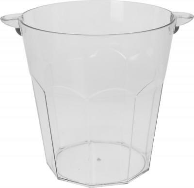 Plastic Champagne Wine Bottle Cooler Ice Bucket