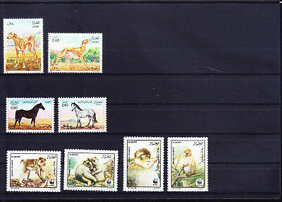054605 Tiere Animals Algerie Stamps Briefmarken ** MNH - Lot