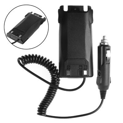 Car Charger Battery Eliminator Adapter For UV-82 Baofeng Radio Walkie Talkie