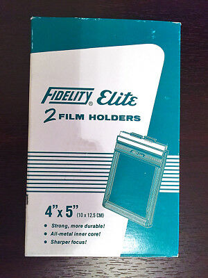 Fidelity 4x5 Sheet Film Holders (Twin Pack)
