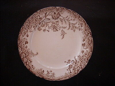 Antique Grimwade Brothers Corn Flower Plate 1893