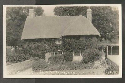 IQC Early Postcard, Old Thatched Cottage, North Lancing, Sussex