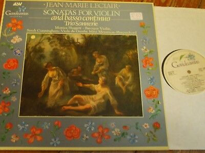 GAU 106 Leclair Sonatas for Violin and Basso Continuo / Trio Sonnerie