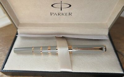 Parker Ingenuity - Taupe with Gold Plated Rings