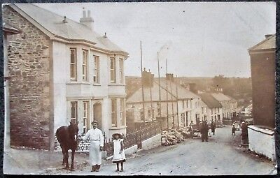 Cornwall RP : Mylor Nr. Falmouth. Posted to U.S.A. Postmark 1905