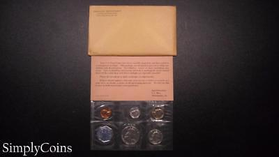 1962 Proof Set ~ Original Envelope With COA ~ US Mint Silver Coin Lot SKU-616