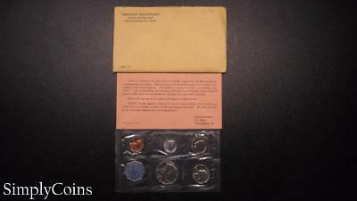 1964 Proof Set ~ Original Envelope With COA ~ US Mint Silver Coin Lot SKU-617