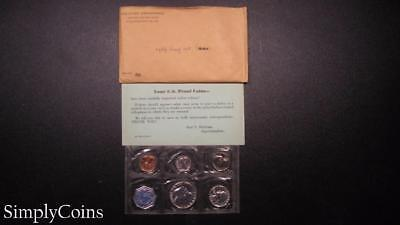 1959 Proof Set ~ Original Envelope With COA ~ US Mint Silver Coin Lot SKU-609