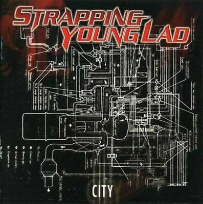Strapping Young Lad - City (Euro. Deluxe Ed. w. 5 bonus tracks) - CD - New