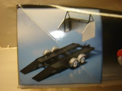 Model Kit Car Service TRAILER 1/25 New Complete NO Box or Instruction (LAST ONE)