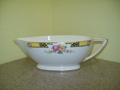 Vintage Edwin M. Knowles China Co. Semi Vitreous Gravy Boat