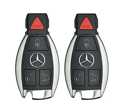 Smart Proximity Keyless Entry Remote Intelligent Key Fob Pair Mercedes Benz