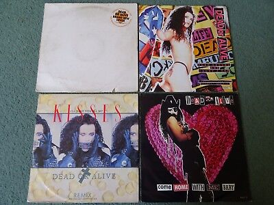 """Dead Or Alive 12"""" Vinyl Collection Promo Brand New Lover & More ALL GRADED"""