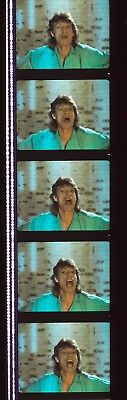 Dancing in the Street David Bowie & Jagger 35mm Film Cell strip very Rare a42