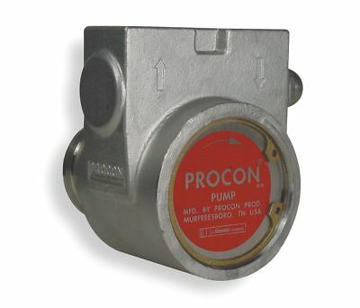 "PROCON, 113A070F31BA 250,3/8"" Stainless Steel Rotary Vane Pump, 82 Max. Flow GPH"