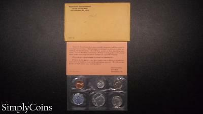 1964 Proof Set ~ Original Envelope With COA ~ US Mint Silver Coin Lot SKU-582