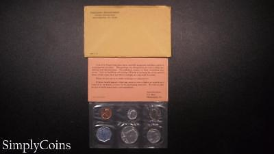 1964 Proof Set ~ Original Envelope With COA ~ US Mint Silver Coin Lot SKU-583