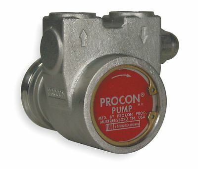 "PROCON, 113A035F31CA 250, 3/8"" Stainless Steel Rotary Vane Pump, 48 Max. (GPH)"