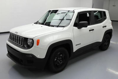 2017 Jeep Renegade Sport Sport Utility 4-Door 2017 JEEP RENEGADE SPORT 2.4L AUTO ALLOY WHEELS 8K MI #F23359 Texas Direct Auto