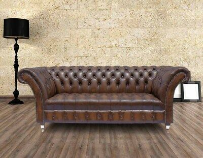 chesterfield textil sofa leder stoff couch 3 sitzer. Black Bedroom Furniture Sets. Home Design Ideas